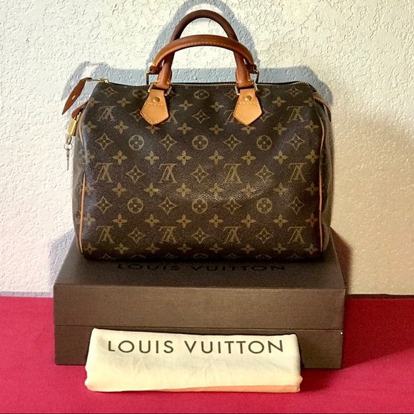 3ff30986f1ea Louis Vuitton Handbags - Speedy 30 Monogram Canvas 100% Authentic LV